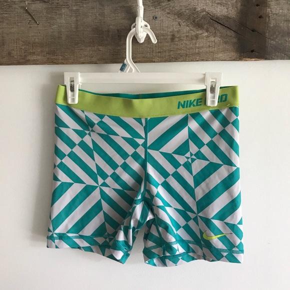 Nike Pants - Nike Pro fun shorts 4inseam